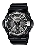 Casio Men's GA200BW-1A G-Shock Magnetic Resistant Black Resin Digital Watch de Casio