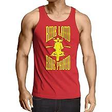 N4695V Camiseta sin mangas Ride Loud!
