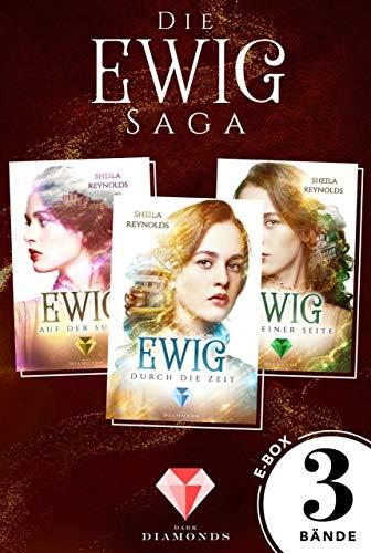 Alle drei Bände der romantischen Ewig-Saga in einer E-Box! (Die Ewig-Saga ) - College-romanze Adult, New