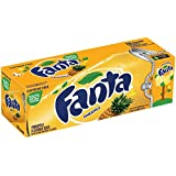 Fanta Refresco con Gas, Sabor Piña - Paquete de 12 x 355 ml - Total: 4260 ml