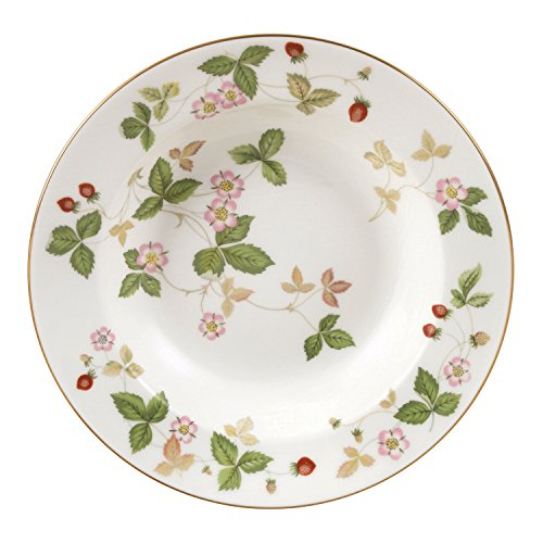 Wedgwood Wild Strawberry 8-Inch Rim Soup Bowl Wedgwood Strawberry