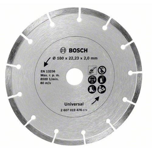 Bosch Diamanttrennscheibe für Baumaterial, 180 mm, 2607019476