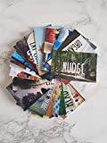 Nudge Cards, Mindfulness, inspirational, wellbeing, positive affirmation, selfcare, mental health, cards WITH HOLDER