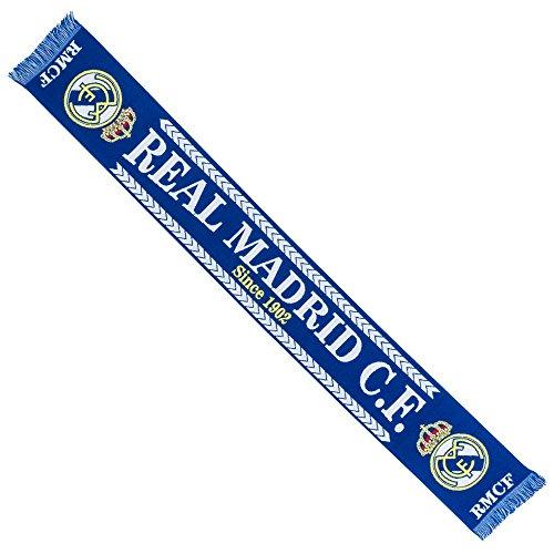 Real Madrid desde 1902bufanda de punto–azul