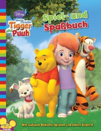 Disney Aktivity: Meine Freunde Tigger und Puuh. Spiel- und Spaßbuch: Mit lustigen Rätseln, Spielen und tollen Bildern