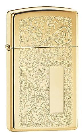 Venetian & Gem - Zippo 50851041 Briquet Venetian Slim -