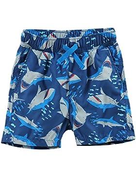 ESTAMICO Bañador de natación de playa para niños Tiburón azul marino 3 años