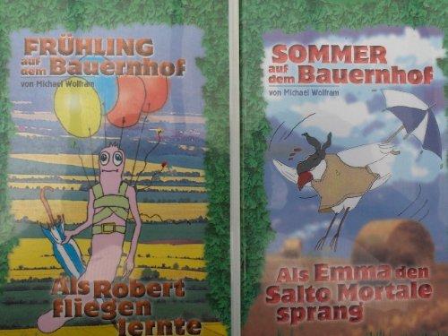 Preisvergleich Produktbild Frühling / Sommer / Herbst / Winter auf dem Bauernhof (4 VHS / Real-Zeichentrick)