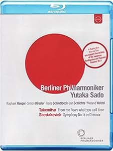 Berliner Philharmonic / Yutaka Sado: From Me Flows What You Call Time (EUROARTS 2058744) [Blu-ray] [2011] [Region Free]