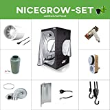 Growsset Dark Box Serie 80 ESL120W Blüte Komplettset Set Grow ESL Growbox