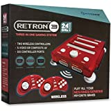 Hyperkin RetroN 3 Video Game System for NES/SNES/GENESIS Console 2.4Ghz Edition - Laser Red by Hyperkin