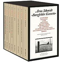Bargfelder Ausgabe. Studienausgabe der Werkgruppe I: Romane, Erzählungen, Gedichte, Juvenilia: 4 in 8 Teilbänden in Kassette