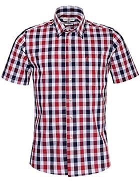 Almsach Kurzarm Trachtenhemd Dan