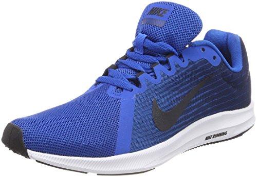 Nike Herren Downshifter 8 Laufschuhe, Blau (Blue Nebula/Dark Obsidian-Navy 401), 38.5 - Für Running Männer Schuhe