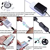 Tingkam® Waterproof 5M 5050 SMD RGB Led Strips Lighting Full Kit with 44 Key IR Remote Controller for Home Kitchen Cabinet TV Lighting Decoration Bild 2