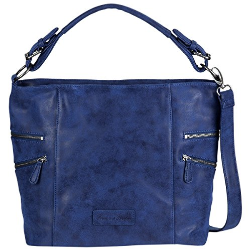 Fritzi aus Preußen Hobo Bag Cinja atlantic (Geprägte Bag Hobo)