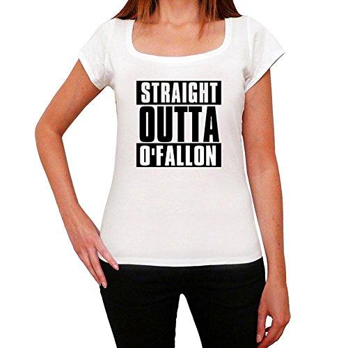 Straight Outta O'fallon, t-shirt damen, stadt tshirt, straight outta tshirt