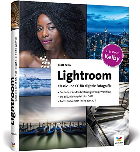 Lightroom Classic und CC für digitale Fotografie Buch-Cover