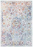 CarpetFine: Tappeto Vintage Heaven 80x150 cm Blu - Ornamentale