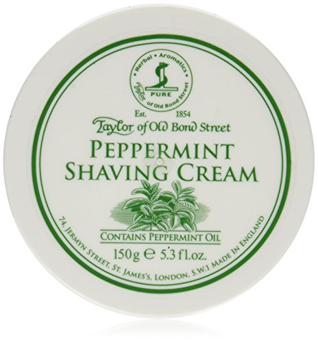 Taylor of Old Bond Street Crema da Rasatura Fragranza Menta Piperita - 1 pz