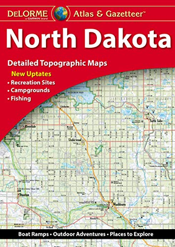 Delorme North Dakota Atlas & Gazetteer