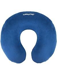 Daydream extra suave almohada de cuello para viaje con espuma de memoria, Azul