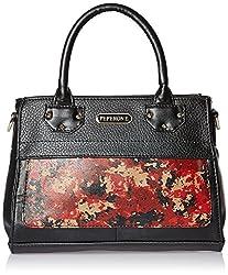 Peperone Womens Handbag (Black)