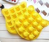 Winnie Pooh-Silikon-Backform, Kuchendekoration, Schokoladen-Backform für Partys