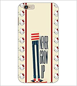 PrintDhaba Quote D-2785 Back Case Cover for APPLE IPHONE 6 (Multi-Coloured)