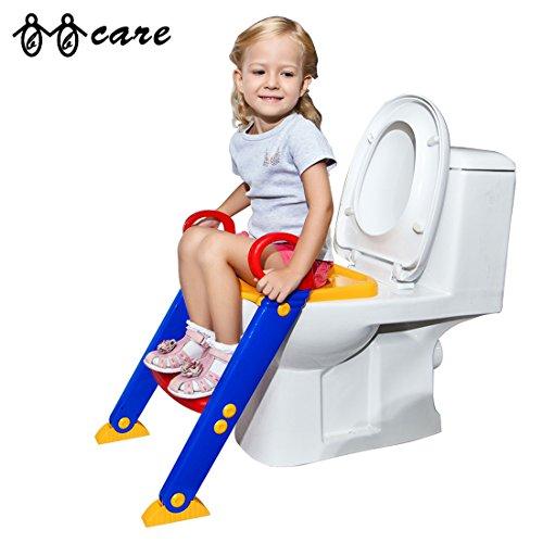 bbcare-potty-trainer-vasetto-per-bambini-pieghevole-con-scala-rosso-giallo