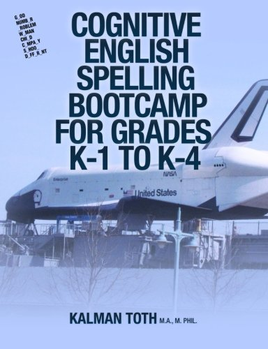 Cognitive English Spelling Bootcamp For Grades  K-1 To K-4