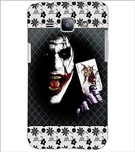 PrintDhaba Joker D-3071 Back Case Cover for SAMSUNG GALAXY J1 (Multi-Coloured)
