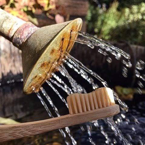 ✮ bambusliebe ✮ 3er Pack Bambus Zahnbürste für Kinder ♻ weiche Bambus-Viskose Borsten ♻ Nachhaltig ✅ Vegan ✅ Kompostierbar ✅ Antibakteriell ✅ BPA-frei ✅