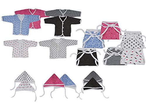 Dream Baby Clothing Set (Multi-Coloured, 0-3 Months)