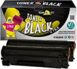 Yellow Yeti CF283A 83A (1.500 Seiten) 2 Premium Toner kompatibel für HP LaserJet Pro M201dw M201n MFP M125nw M127fn M127fw M225dn M225dw M125a M127fp [3 Jahre Garantie]