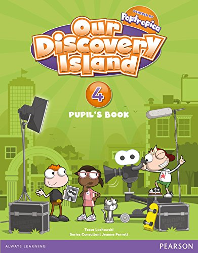 Our Discovery Island 4 Pupil's Book - 9788498377873