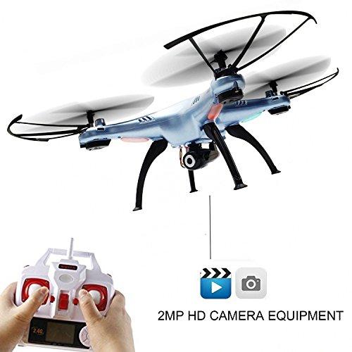 X5HC PRO - 4.5-Kanal Drohne Quadrocopter mit HD Kamera, Höhenbarometer, Headless, opt. WIFI FPV, 2x Akku, Zubehör, Crash-Kit - 2