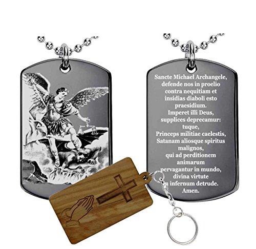 San Michele preghiera(latino) medaglia
