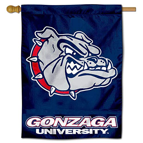 College Flags and Banners Co. Gonzaga University Bulldogs House Flagge Gonzaga University Bulldogs