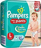 Pampers Baby Dry Pants Large Size Diaper...