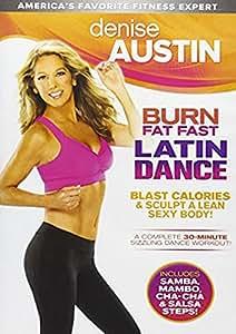 Denise Austin: Burn Fat Fast Latin Dance [DVD] [Region 1] [US Import] [NTSC]
