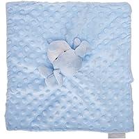 Elegant Baby - Buddy Baby Blue Puppy Dog Plush Animal Comforter Blanket