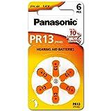 PR13 Hörgerätebatterien PR-13/6LB, Hörgerätezellen 13 Zinc Air 6er Rad