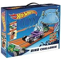 Hot Wheels Dino Challenge Circuito Slot, (Fábrica de Juguetes 91008)