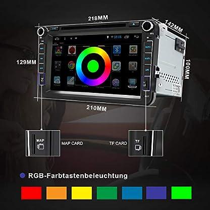 AWESAFE-Android-81-Autoradio-Doppel-DIN-DVD-Player-fr-VW-mit-GPS-NAVI-Untersttzt-Bluetooth-DAB-Radio-WLAN-FM-RDS-Radioempfang