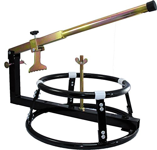 "Price comparison product image Qtech Motorcycle Motorbike TYRE CHANGER Bead Breaker for 16-21"" (40-55cm) Wheels"