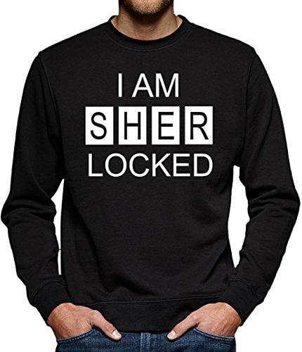 TLM I am Sherlocked Sweatshirt Pullover Herren S (20 Kostüm Detektiv)