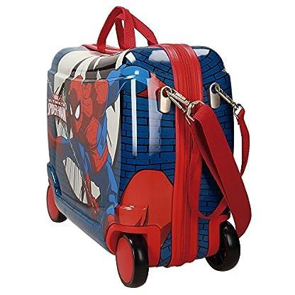 Spiderman Comic Equipaje Infantil, 50 cm, 34 Litros, Multicolor