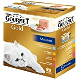 Gourmet Gold Mousse Alimento para Gato, Húmedo - 680 g