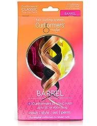 5f20efb3ffdb Curlformers originaux brevetés – Pack de démarrage pour cheveux mi-longs  boucles extra larges